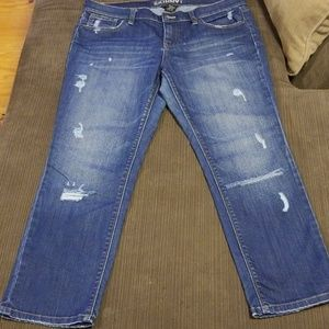 NY & Co. Distressed Jeans